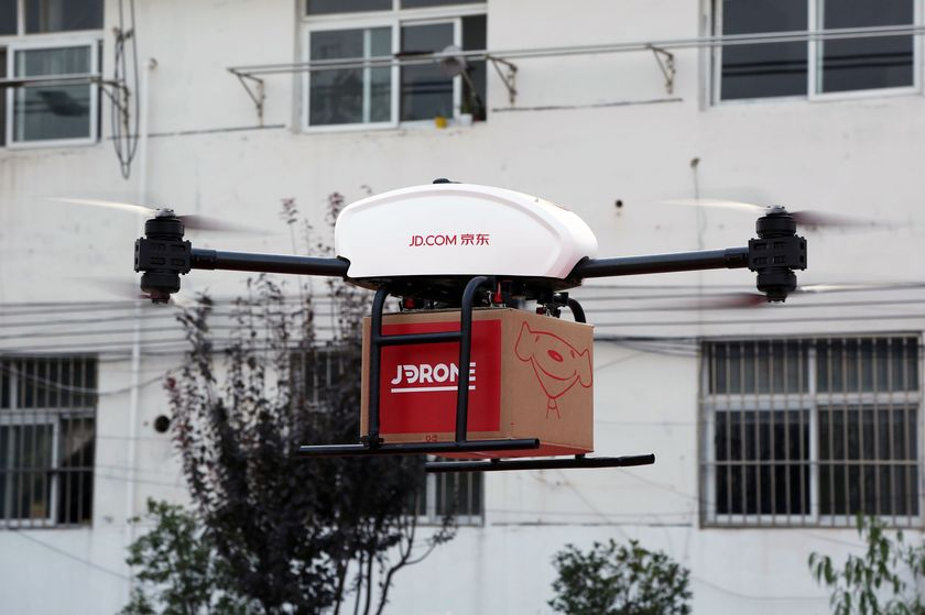 Use drones to deliver to isolated rural areas