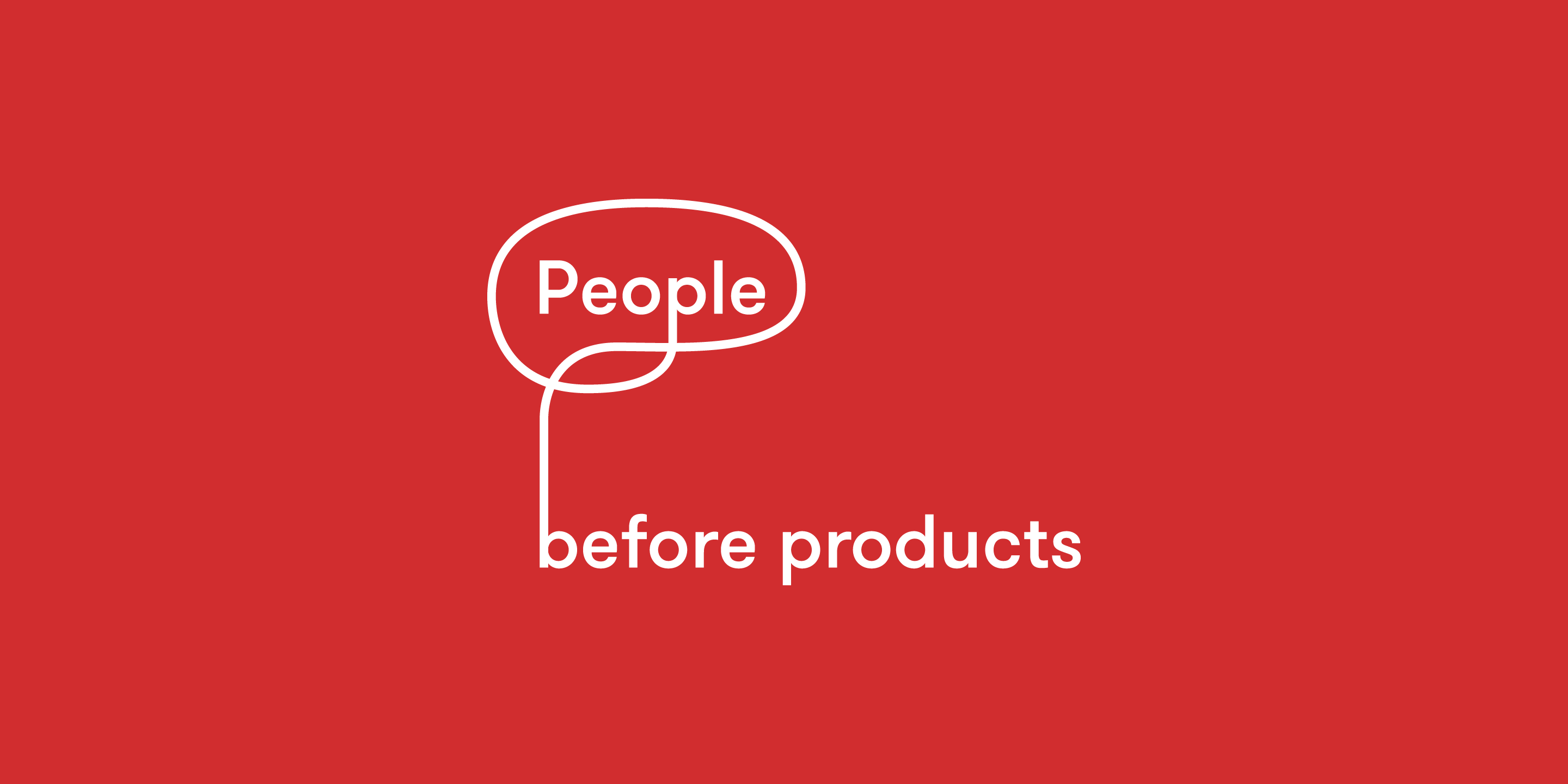 People before product human centered design